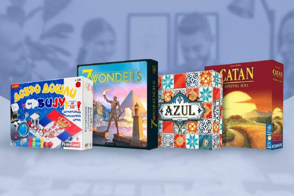 Najpopularnije društvene igre za sve uzraste na srpskom jeziku
