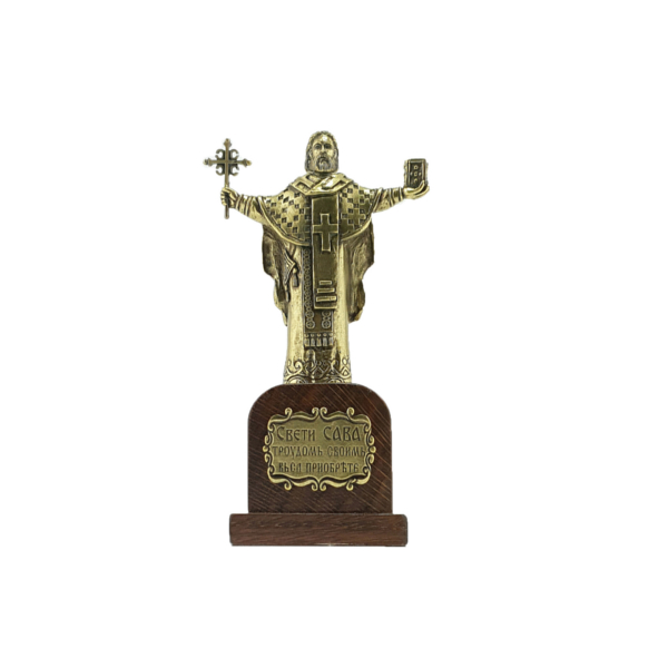 SPOMENIK SVETOM SAVI, 15x8x6 cm, Statua Sveti Sava-4