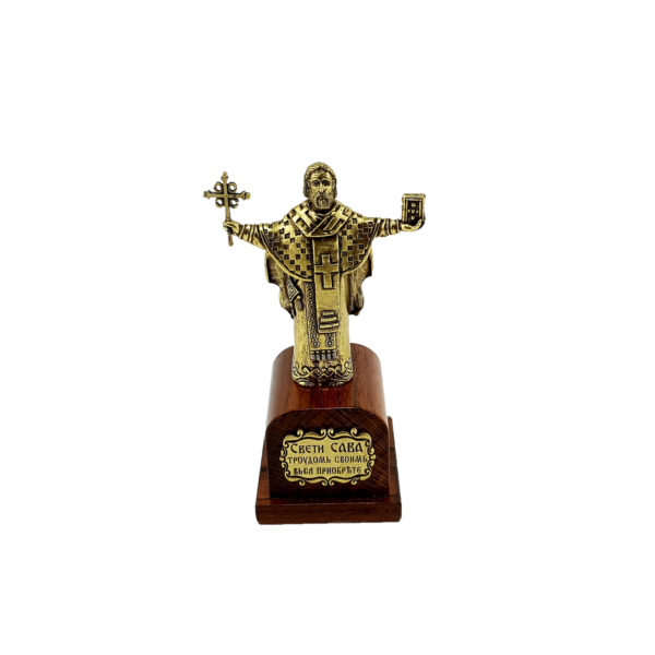 SPOMENIK SVETOM SAVI, 15x8x6 cm, Statua Sveti Sava-1
