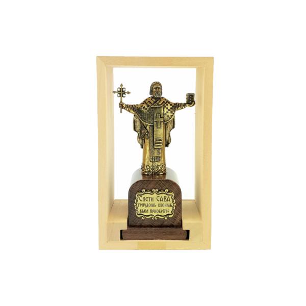 SPOMENIK SVETOM SAVI, 15x8x6 cm, Statua Sveti Sava-2