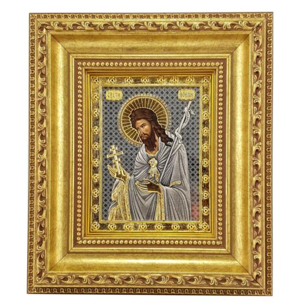 IKONA SVETI JOVAN 27x23 cm, Sv. Jovan, IKONA SVETOG JOVANA-1