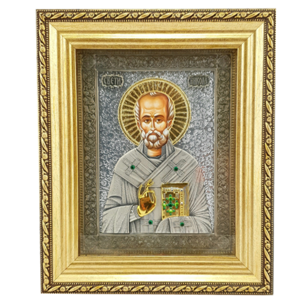 IKONA SVETI NIKOLA 21x17 cm, Sv. Nikola-1