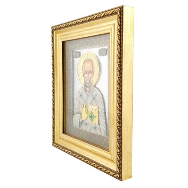 IKONA SVETI NIKOLA 21x17 cm, Sv. Nikola-2