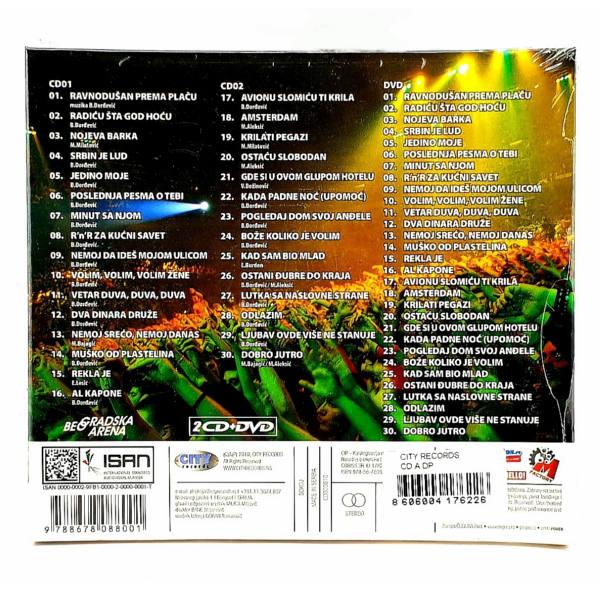 RIBLJA ČORBA - NIKO NEMA OVAKVE LJUDE - LIVE ARENA (2CD+DVD)-2