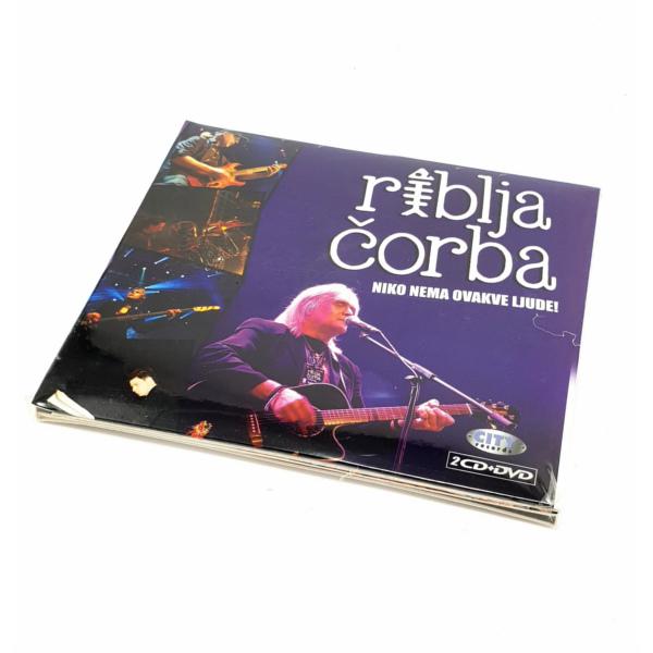 RIBLJA ČORBA - NIKO NEMA OVAKVE LJUDE - LIVE ARENA (2CD+DVD)-1