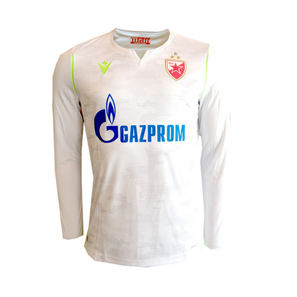 The Goalkeeper Long Sleeve Jersey In Red Star White Serbian