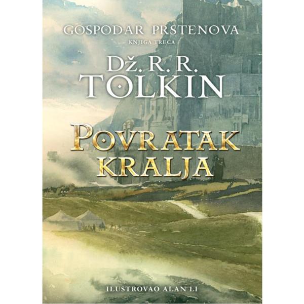 POVRATAK KRALJA  - Dž.R.R. TOLKIN - III Knjiga - Tvrd Povez-1