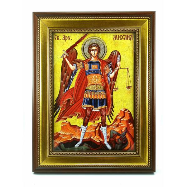 IKONA Sveti ARHANGEL MIHAIL, slavska ikona, 40x30 cm-1