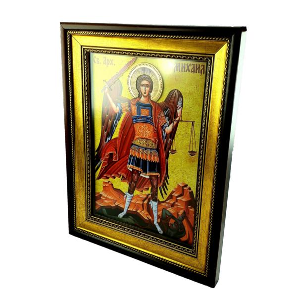 IKONA Sveti ARHANGEL MIHAIL, slavska ikona, 40x30 cm-4