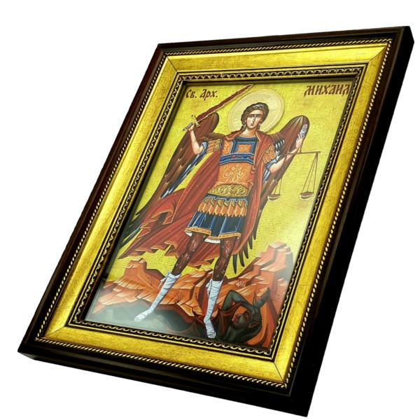 IKONA Sveti ARHANGEL MIHAIL, slavska ikona, 40x30 cm-3
