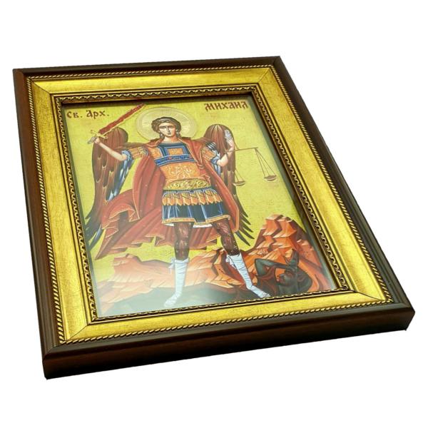 IKONA Sveti ARHANGEL MIHAIL, slavska ikona, 40x30 cm-2
