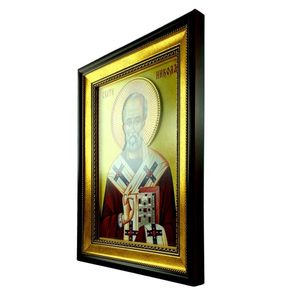 IKONA SVETI NIKOLA, slavska ikona, 40x30 cm, SVETI NIKOLA IKONA-4