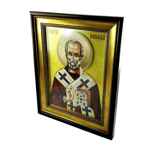 IKONA SVETI NIKOLA, slavska ikona, 40x30 cm, SVETI NIKOLA IKONA-3
