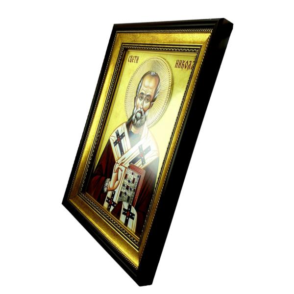 IKONA SVETI NIKOLA, slavska ikona, 40x30 cm, SVETI NIKOLA IKONA-2