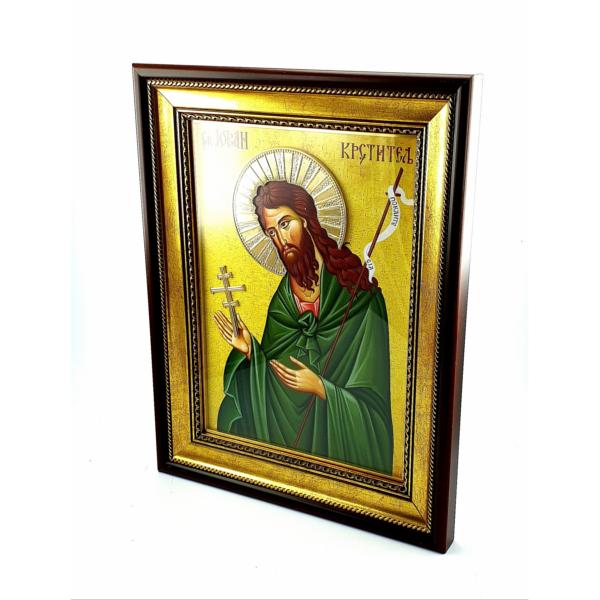 IKONA SV.JOVAN KRSTITELJ, slavska ikona, 40x30 cm-4