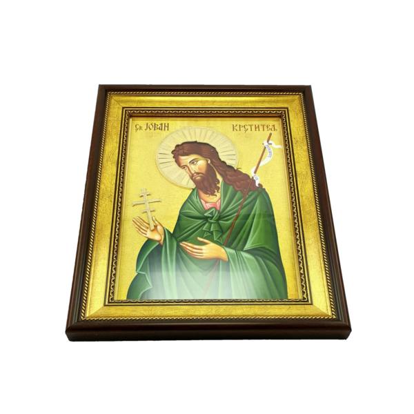 IKONA SV.JOVAN KRSTITELJ, slavska ikona, 40x30 cm-3