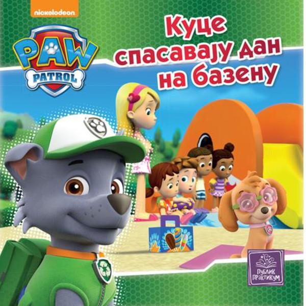 PAW PATROL - Kuce Spasavaju Dan Na Bazenu - Nickelodeon-1