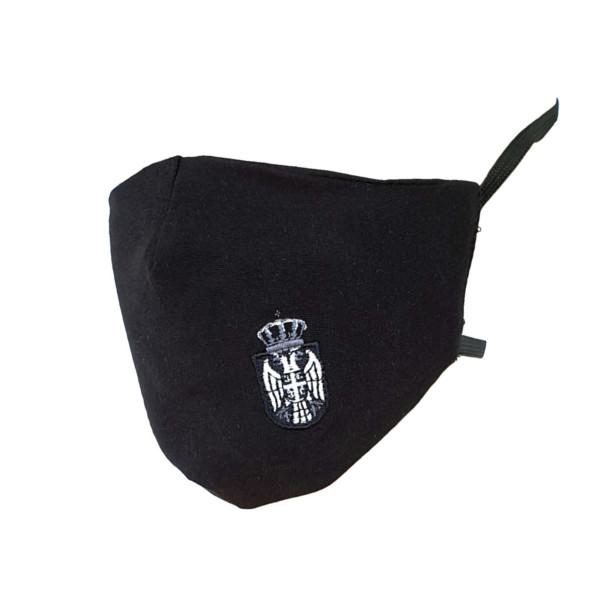 Crna Maska Srbija, Beli Grb,ukrasne Korona Maske,corona-1