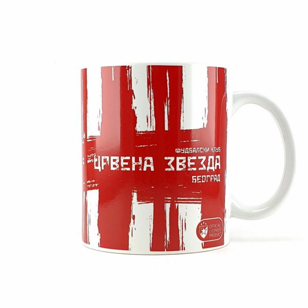 FK CRVENA ZVEZDA CRVENO BELA ŠOLJA-4