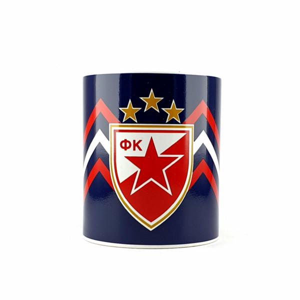 FK CRVENA ZVEZDA GRB TEGET ŠOLJA-1