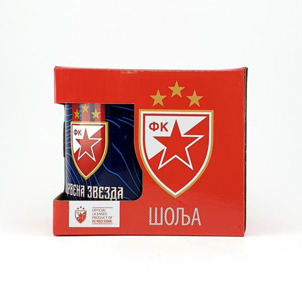 FK CRVENA ZVEZDA GRB PLAVA ŠOLJA-3
