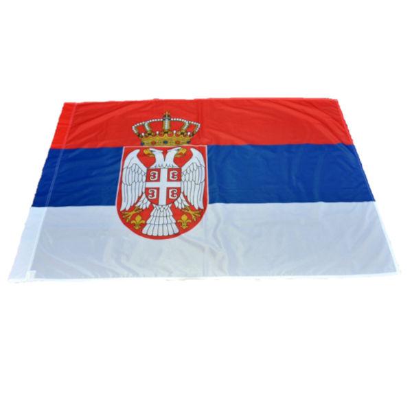 Zastava Srbije - Poliester - 120x80cm-1