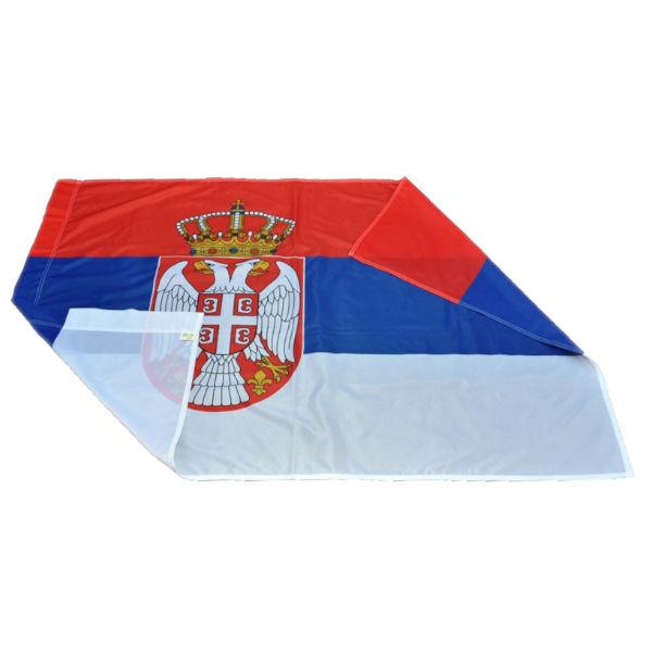 Zastava Srbije - Poliester - 80x50cm-2
