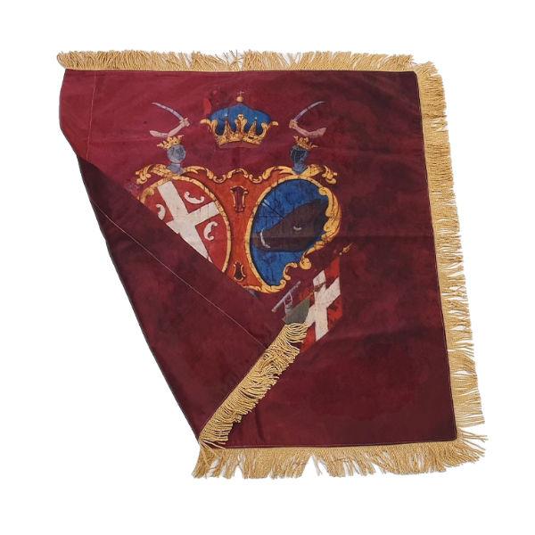 "Ustanička Zastava ""Prvog Srp. Ustanka"" – Bordo  (75x75cm)-2"