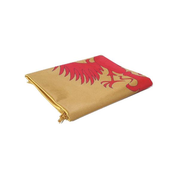 Zastava Nemanjića - Saten Zlatna - 150x100cm-3