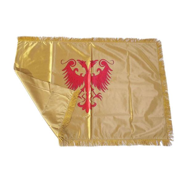 Zastava Nemanjića - Saten Zlatna - 150x100cm-2