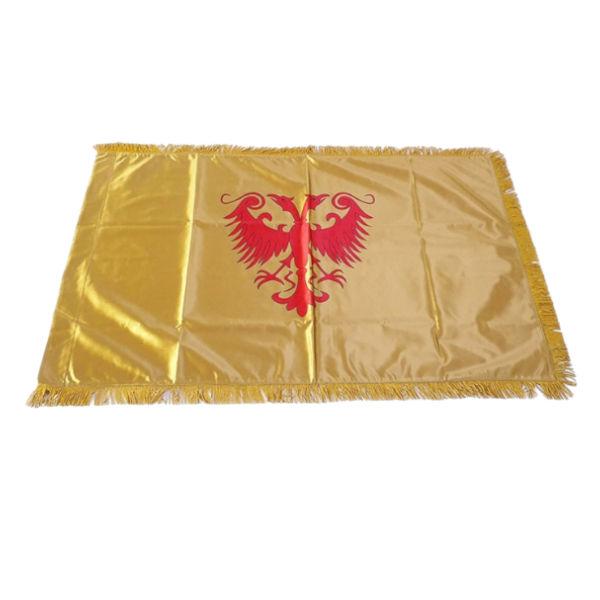 Zastava Nemanjića - Saten Zlatna - 150x100cm-1