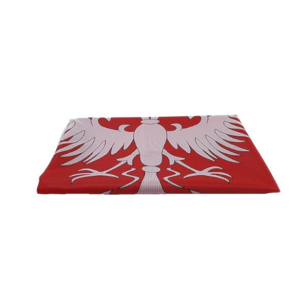 Zastava Nemanjića - Poliester Crvena - 100x100cm-3