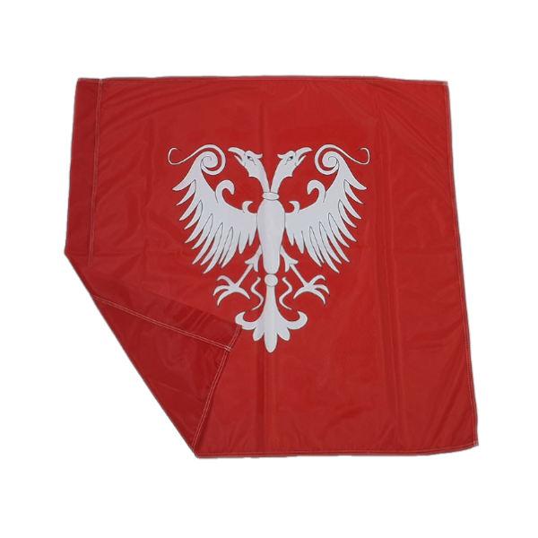 Zastava Nemanjića - Poliester Crvena - 100x100cm-2