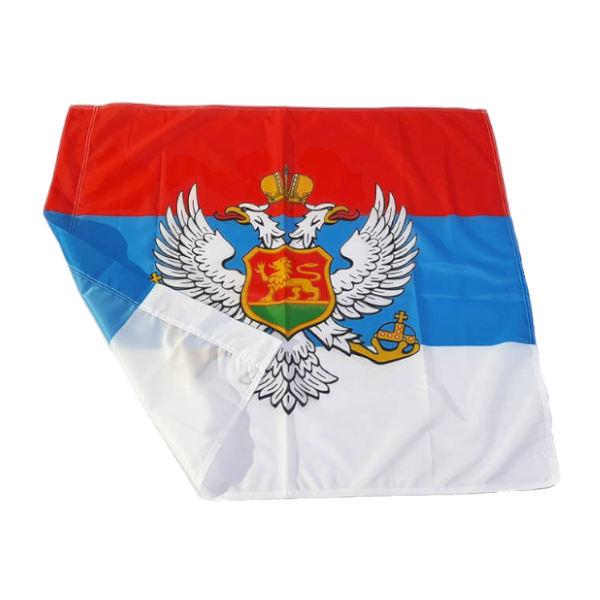 Zastava Kraljevine Crne Gore - Poliester - 100x100cm-2