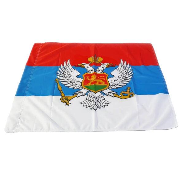 Zastava Kraljevine Crne Gore - Poliester - 100x100cm-1