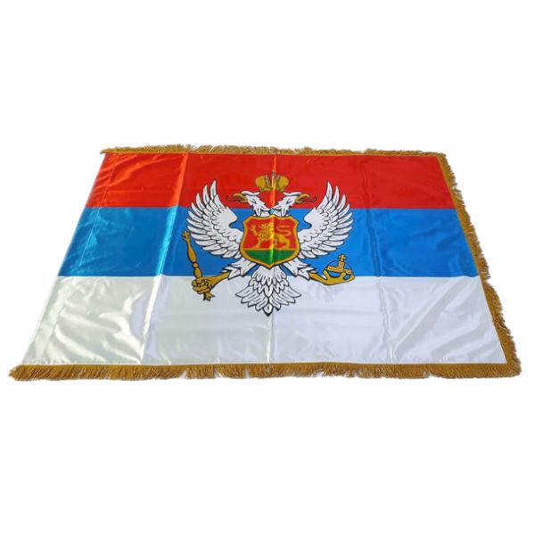 Zastava Kraljevine Crne Gore - Saten - 120x80cm-1