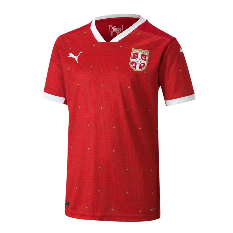 Dečiji fudbalski dres reprezentacije Srbije crveni 2020 2021 muški-1