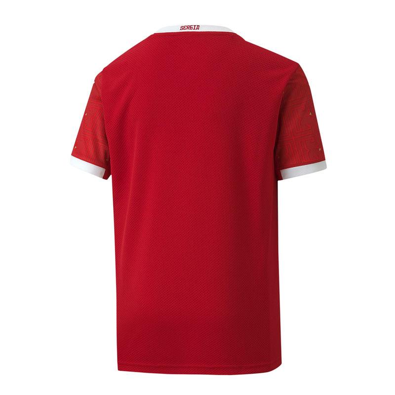 Dečiji fudbalski dres reprezentacije Srbije crveni 2020 2021 muški-2