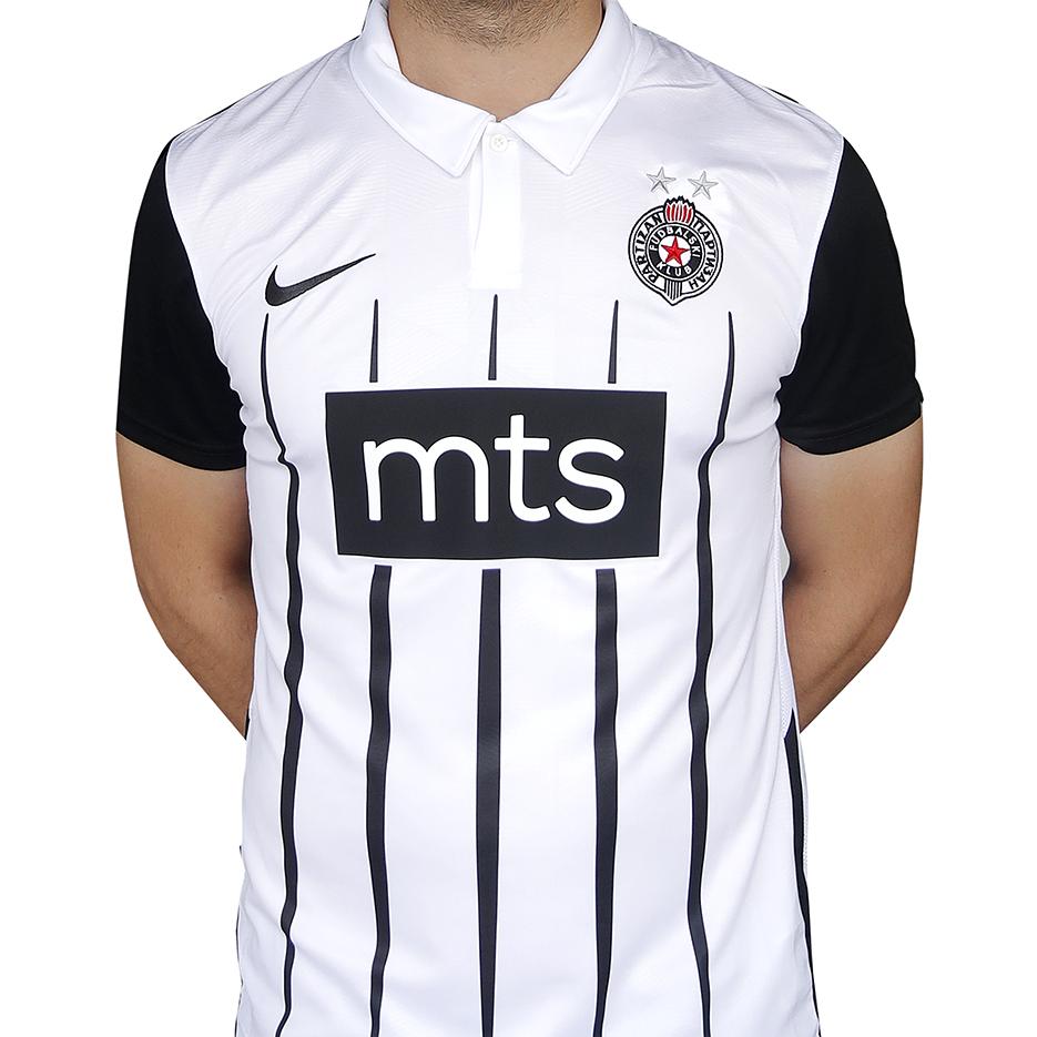 Novi original crno beli dres FK Partizan Beograd za sezonu 2021 2022, Nike-1