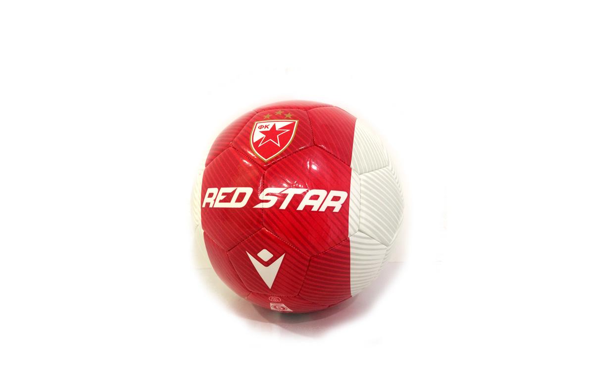 FK CRVENA ZVEZDA FUDBALSKA LOPTA RED STAR - Mala-1