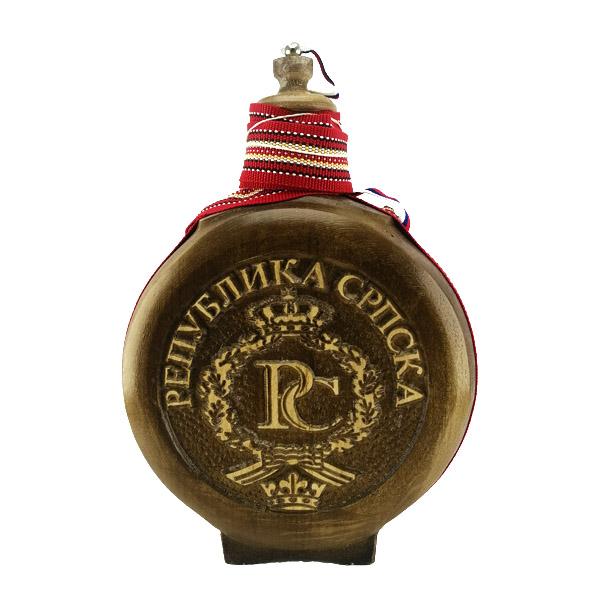 ČUTURA ZA RAKIJU 0.7l, Republika Srpska-1