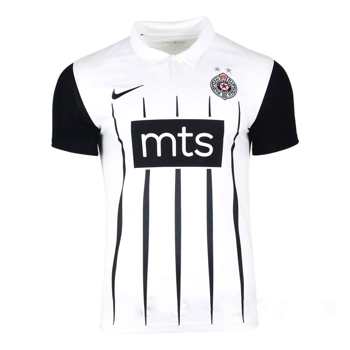 Brand new Nike football jersey of FC Partizan Belgrade for the season 2021 2022 with name and number printing-1