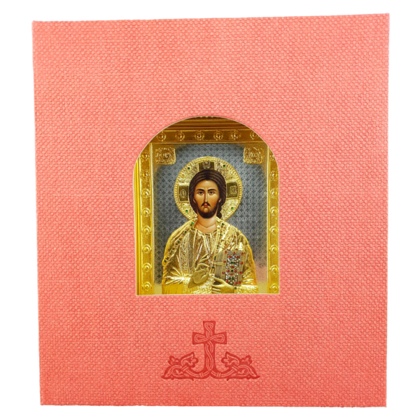 IKONA METALNA ISUS HRIST 27x24cm-2