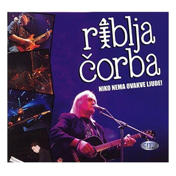 RIBLJA ČORBA - NIKO NEMA OVAKVE LJUDE - LIVE ARENA (2CD+DVD)